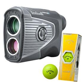 Bushnell ブッシュネル ピンシーカーツアープロXEジョルト&キャロウェイ ゴルフボール3個入りセット(ゴルフ用レーザー距離計)(日本正規品)
