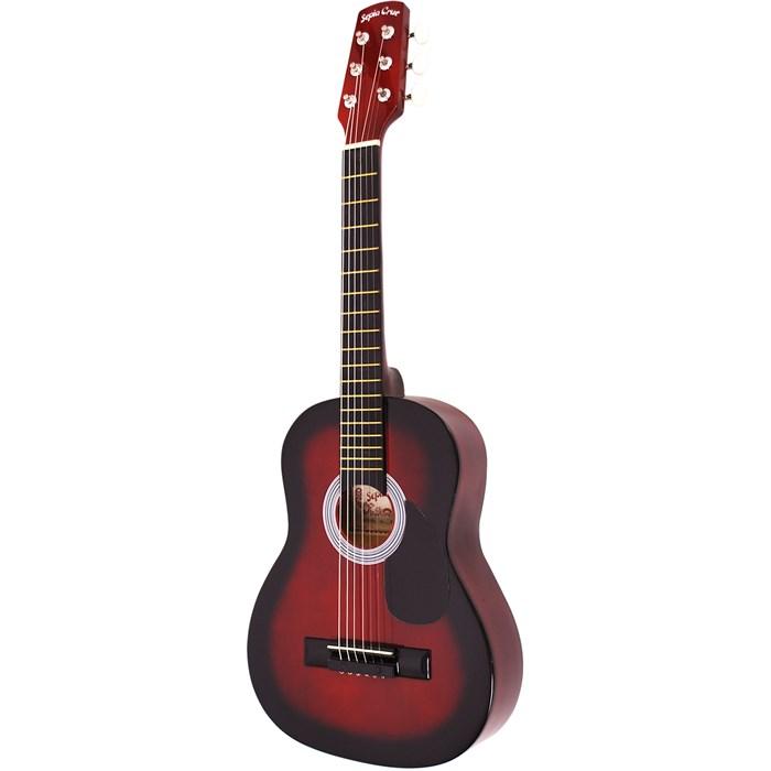 (メーカー直送)(代引不可) SepiaCrue(セピアクルー) ミニアコースティックギター W-50/RDS レッドサンバースト(ソフトケース付) (ラッピング不可)(W50)