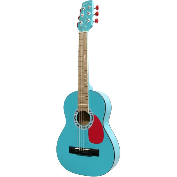(メーカー直送)(代引不可) SepiaCrue(セピアクルー) ミニアコースティックギター W-50/MintRed ミントレッド(ソフトケース付) (ラッピング不可)(W50)