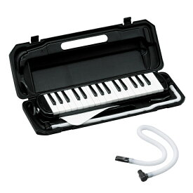 (ドレミファソラシール付き!)(鍵盤ハーモニカ&ホースセット) P3001-32K BK(ブラック) キョーリツコーポレーション(メロディオン・ピアニカをお探しの方に)(ラッピング不可)