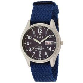 【国内正規品】 AEFD556 ALBA[アルバ] 【ペアウォッチ】【腕時計 ソーラー ハードレックス 10気圧防水 メンズ】