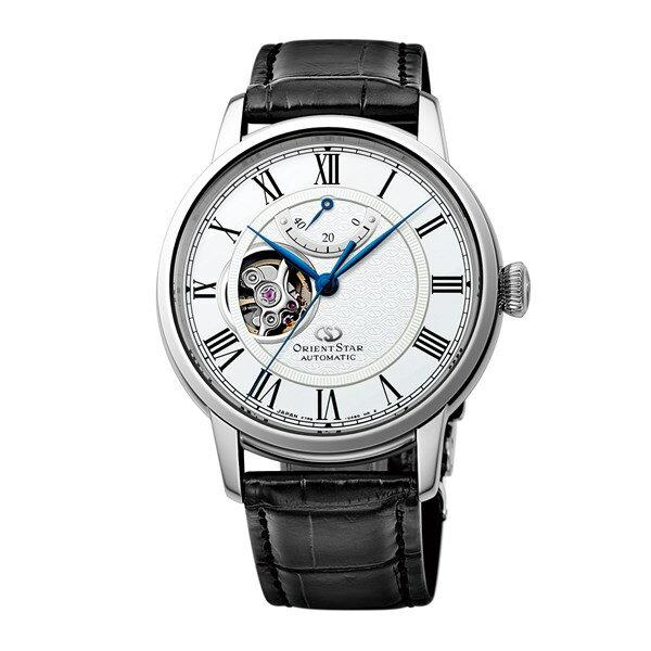 【国内正規品】[オリエント]ORIENT 腕時計 RK-HH0001S [オリエントスター]ORIENTSTAR セミスケルトン 機械式 メンズ【革バンド 多針アナログ表示 自動巻き】