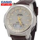 【国内正規品】CASIO(カシオ) wave ceptor ウェーブセプター WVA-M630L-9AJF タフソーラー 世界6局対応電波ソーラー時計(WVA-M630Dシリーズの革バンド・一部流通モ