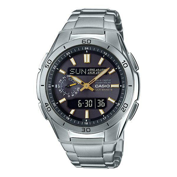 【国内正規品】[カシオ]CASIO 腕時計 WVA-M650D-1A2JF [ウェーブセプター]WAVE CEPTOR メンズ [WVAM650D1A2JF]【ステンレスバンド 電波ソーラー】