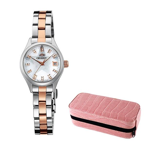【セット】【国内正規品】 ORIENT(オリエント) 【腕時計】 WV0201SZ Neo70's[ネオセブンティーズ]&時計保管ケースTC-2(ピンク)【送料無料】