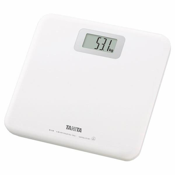 TANITA(タニタ) デジタルヘルスメーター HD-661 ホワイト 体重計 [HD661/HD-661WH]