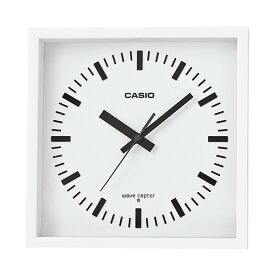 (カシオ)CASIO 電波掛時計 IQ-810J-7JF (IQ810J7JF) 掛置兼用 自立スタンド付き(壁掛時計/クロック/電波時計)