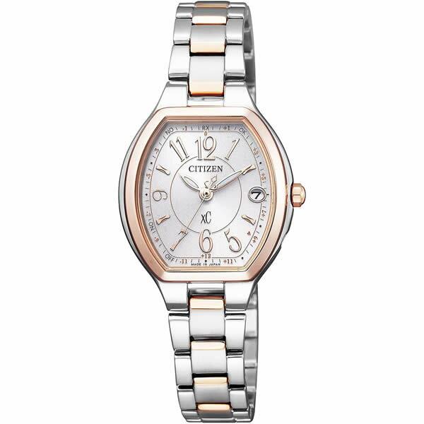 【国内正規品】[シチズン]CITIZEN 腕時計 ES9364-57A [クロスシー]xC レディース エコ・ドライブ電波時計 HAPPY FLIGHT シリーズ