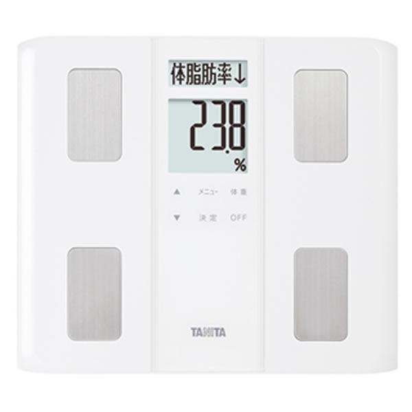 TANITA[タニタ] 体組成計 BC-331 WH (BC331 WH) ホワイト 薄型ワイドタイプ マイサポ機能 自動認識機能 体内年齢 体脂肪率測定 BMI 筋肉量 基礎代謝量