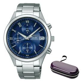 (時計ケースセット)(国内正規品)(セイコー)SEIKO 腕時計 AGAD096 (ワイアード)WIRED ペアスタイル メンズ(ステンレスバンド ソーラー 多針アナログ)