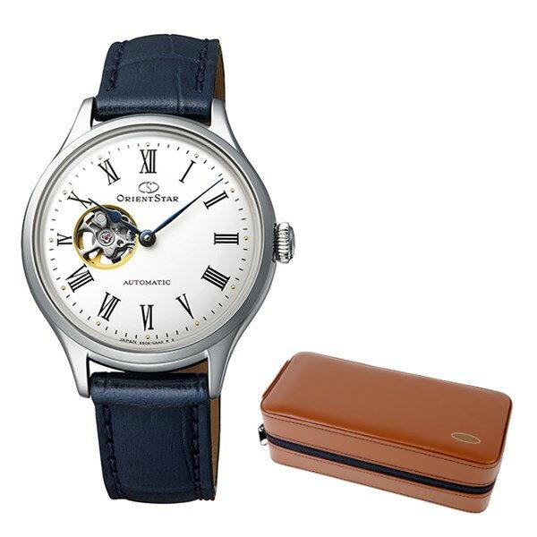(ケースセット)(国内正規品)(オリエントスター)ORIENTSTAR 腕時計 RK-ND0005S クラシック レディース クラシックセミスケルトン(牛革バンド 自動巻き(手巻付) アナログ)