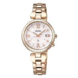 (国内正規品)(セイコー)SEIKO 腕時計 SSQV058 (ルキア)LUKIA レディース レディダイヤ 綾瀬はるか(チタンバンド 電波ソーラー アナログ)