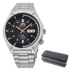 (時計ケースセット)(国内正規品)(オリエント)ORIENT 腕時計 RN-AA0B03L (スポーツ)SPORTS メンズ SK復刻(ステンレスバンド 自動巻(手巻き付) アナログ)