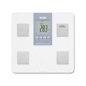 自動認識機能 TANITA タニタ 体組成計 BC715WH ホワイト【BC-715/体重計・体脂肪計】立ったままでも見やすい大型表示