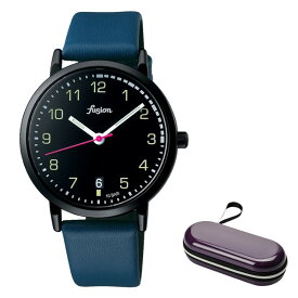 (時計ケースセット)(国内正規品)(セイコー)SEIKO 腕時計 AFSJ401 (アルバ フュージョン)ALBA fusion メンズ レディース 70's シティミリタリー(牛革バンド クオーツ アナログ)