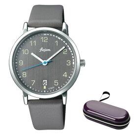 (時計ケースセット)(国内正規品)(セイコー)SEIKO 腕時計 AFSJ402 (アルバ フュージョン)ALBA fusion メンズ レディース 70's シティミリタリー(牛革バンド クオーツ アナログ)