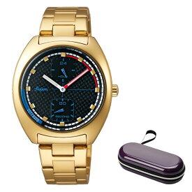 (時計ケースセット)(国内正規品)(セイコー)SEIKO 腕時計 AFSK401 (アルバ フュージョン)ALBA fusion メンズ レディース 90's ファッションミックス(ステンレスバンド クオーツ 多針アナログ)