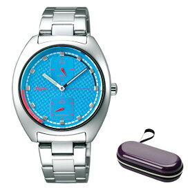 (時計ケースセット)(国内正規品)(セイコー)SEIKO 腕時計 AFSK402 (アルバ フュージョン)ALBA fusion メンズ レディース 90's ファッションミックス(ステンレスバンド クオーツ 多針アナログ)