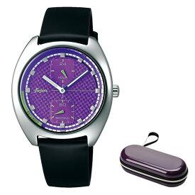 (時計ケースセット)(国内正規品)(セイコー)SEIKO 腕時計 AFSK404 (アルバ フュージョン)ALBA fusion メンズ レディース 90's ファッションミックス(牛革バンド クオーツ 多針アナログ)