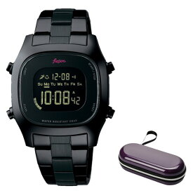 (時計ケースセット)(セイコー)SEIKO 腕時計 AFSM401 (アルバ フュージョン)ALBA fusion メンズ レディース ステンレスバンド クオーツ デジタル(国内正規品)