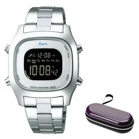 (時計ケースセット)(セイコー)SEIKO 腕時計 AFSM402 (アルバ フュージョン)ALBA fusion メンズ レディース ステンレスバンド クオーツ デジタル(国内正規品)