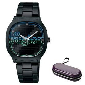 (時計ケースセット)(セイコー)SEIKO 腕時計 AFSK406 (アルバ フュージョン)ALBA fusion メンズ レディース Disco ステンレスバンド クオーツ アナログ(国内正規品)