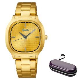 (時計ケースセット)(セイコー)SEIKO 腕時計 AFSK407 (アルバ フュージョン)ALBA fusion メンズ レディース Disco ステンレスバンド クオーツ アナログ(国内正規品)