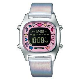 セイコー SEIKO 腕時計 AFSM702 アルバ フュージョン ALBA fusion メンズ レディース ユニセックス クリエイターズコラボ 限定モデル クオーツ 牛革バンド デジタル(国内正規品)