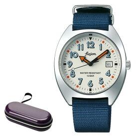 (時計ケースセット)セイコー SEIKO 腕時計 AFSJ406 アルバ フュージョン ALBA fusion メンズ レディース 学生 クオーツ ナイロンバンド アナログ(国内正規品)
