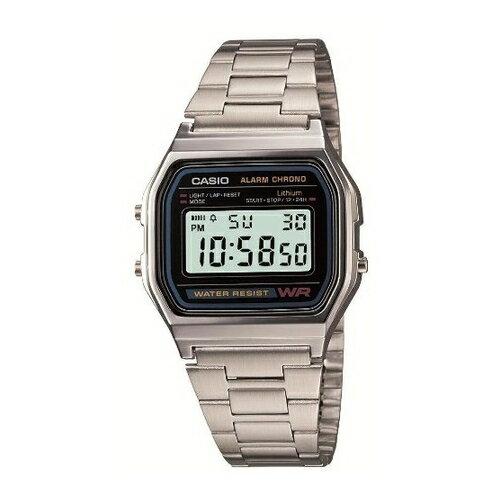 (メール便可:5点まで)CASIO(カシオ) 【腕時計】 A158WA-1JF STANDARD[スタンダード] メンズ