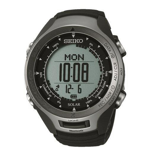 【国内正規品】SEIKO(セイコー) SBEL001 PROSPEX ALPINIST[プロスペックス アルピニスト] 【腕時計 Bluetooth通信機能 ソーラー ハードレックス 10気圧防水 ユニセックス】