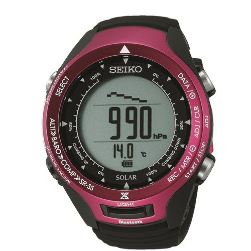【国内正規品】SEIKO(セイコー) SBEL003 PROSPEX ALPINIST[プロスペックス アルピニスト] 【腕時計 Bluetooth通信機能 ソーラー ハードレックス 10気圧防水 ユニセックス】