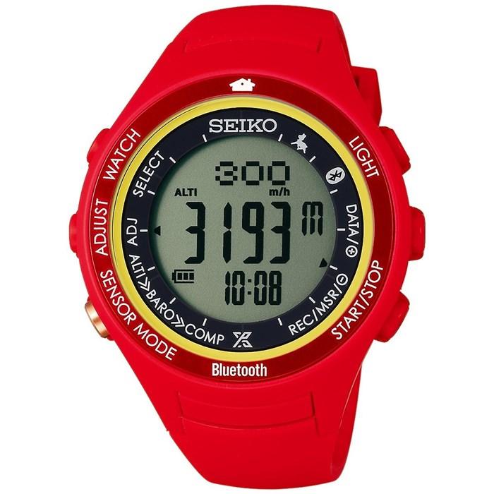 【国内正規品】 SEIKO(セイコー) 【腕時計】 SBEK005 PROSPEX ALPINIST[プロスペックス アルピニスト] 【アルプスの少女ハイジ限定モデル】【ハイジカラーモデル】【ソーラー デジタル 樹脂バンド】