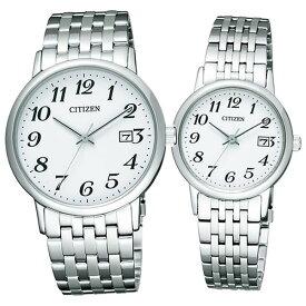 【国内正規品】CITIZEN(シチズン) 腕時計 Citizen Collection[シチズン コレクション] ペアウォッチ BM6770-51B&EW1580-50B【エコ・ドライブ腕時計/ペアモデル】