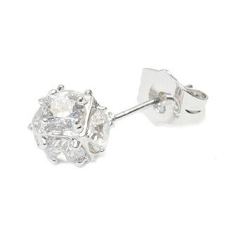 Dice dangle earrings (1 pair)
