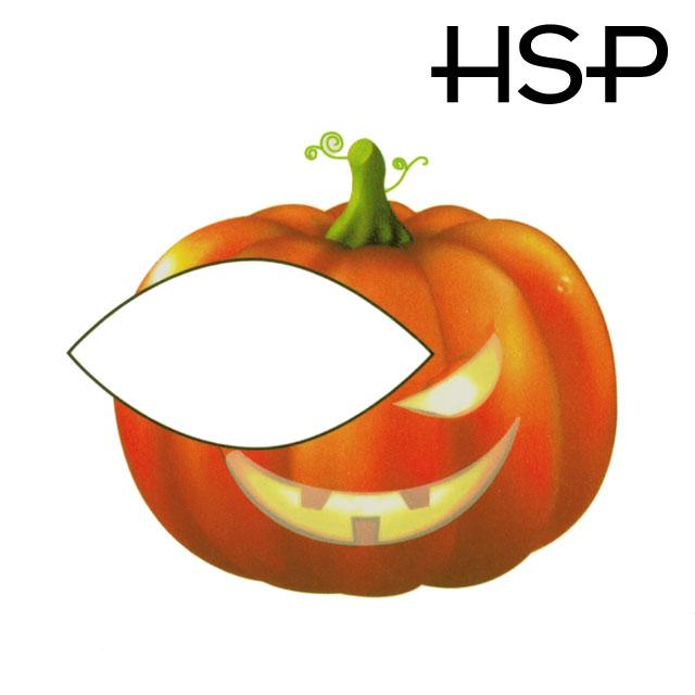 ハロウィン タトゥーシール 2枚セット ジャックランタン ハロウィーン 【 フェイスシール フェイスペイント Halloween イベント 】 ダンス