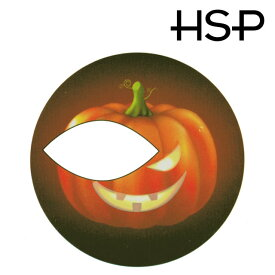 ハロウィン タトゥーシール 2枚セット ジャックランタンリング ハロウィーン 【 フェイスシール フェイスペイント Halloween イベント 】 ダンス