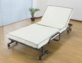 コンパクト折りたたみベッドショート シングル SA868 送料無料