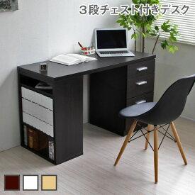 パソコンデスク 省スペース ツインデスク 用デスク単体 ハイタイプ 収納 木製 本棚付き CPB027-SET2 リモートワーク テレワーク 在宅勤務 ホームオフィス