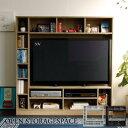 テレビ台 ハイタイプ 壁面家具 リビング壁面収納 50インチ対応 TV台 テレビラック ゲート型AVボード 135cm幅 白 北欧インテリア 西海岸 モダン TCP362 送料無料