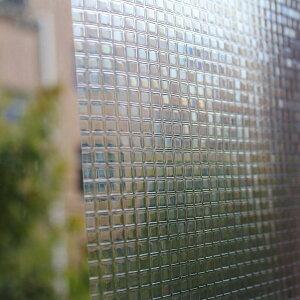 窓ガラスフィルム 目隠モザイクし3D窓用フィルム  目隠し モザイクタイル きらきら デザイン デコレーション浴室目隠しシート おしゃれ ステンドグラス シャワールーム 会議室に適用 装