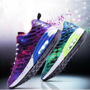 ランニングシューズ メンズ レディース 靴 シューズ スニーカー ジョギングシューズ 運動靴 カップルシューズ ション 幅広 おしゃれ