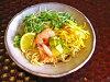 새콤달콤한 레몬 간장 스프는, 여성에게 대인기! 오이, 토마토, 새우, 계란 구워, 아보카드도 토핑에 최고입니다! 자제분에도 부디!