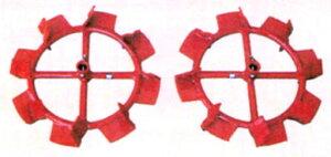 クボタ耕運機オプション 陽菜用 パワー車輪 TR500、TR600、TR600-U、TR700、TR700-U、TR5000、TR6000、TR6000-U、TR7000、TR7000-U、TRS50、TRS60、TRS60-U、TRS60〔J〕、TRS60-〔J〕U、TRS60-H、TRS70、TRS70-U用 【91054