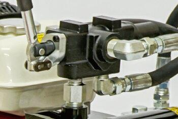 【10月下旬入荷】PLOWエンジン式薪割機ホンダエンジン搭載モデルGLS15PRO