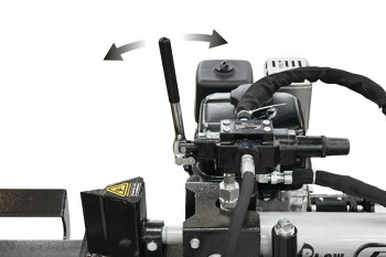 薪割り機プラウヤマハエンジン式薪割り機PH-GLS12破砕力12トンサイクルタイム9秒油圧式[薪ストーブGLS12小型組立て始動確認済み]