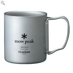 スノーピーク チタンダブルマグ 300 フォールディングハンドル snowpeak スノーピーク 【MG-052FHR】