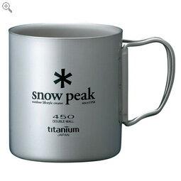 スノーピーク チタンダブルマグ 450 snowpeak スノーピーク 【MG-053R】