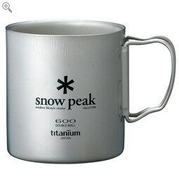 スノーピーク チタンダブルマグ 600 snowpeak スノーピーク 【MG-054R】