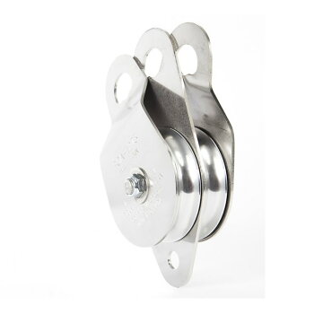 ポータブルウィンチ社ダブルスイングサイドプーリースナッチブロック100mmPCA-1273